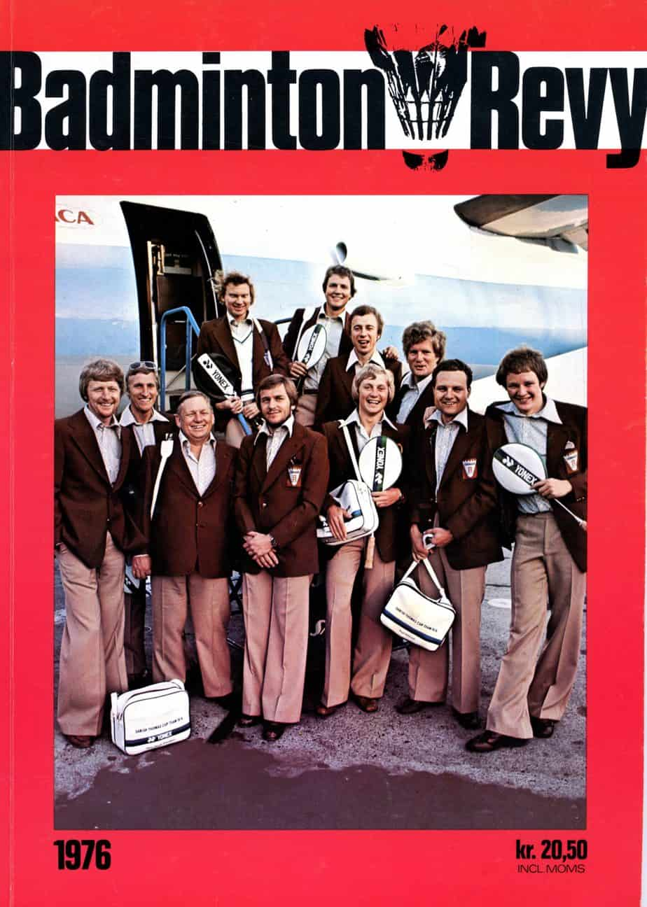 Forside Badminton Revy 1976