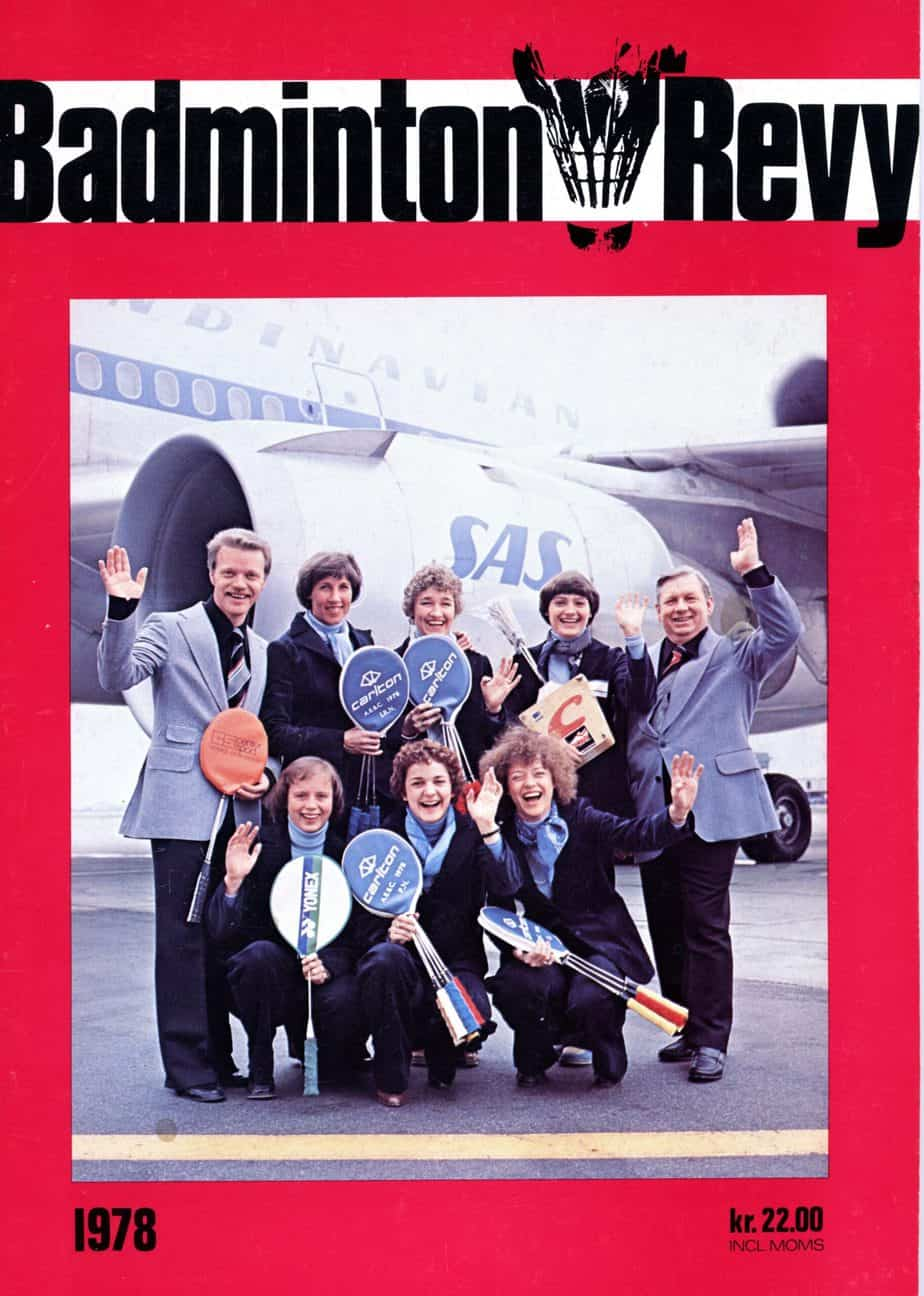 Forside Badminton Revy 1978