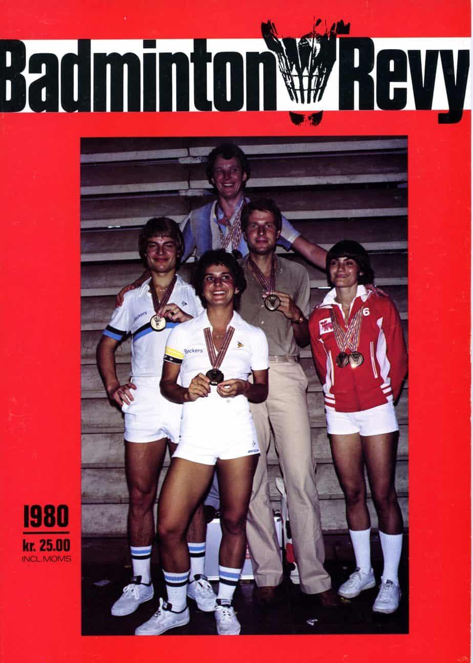 Forside Badminton Revy 1980
