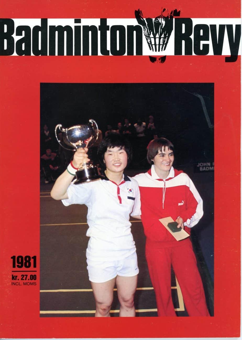 Forside Badminton Revy 1981