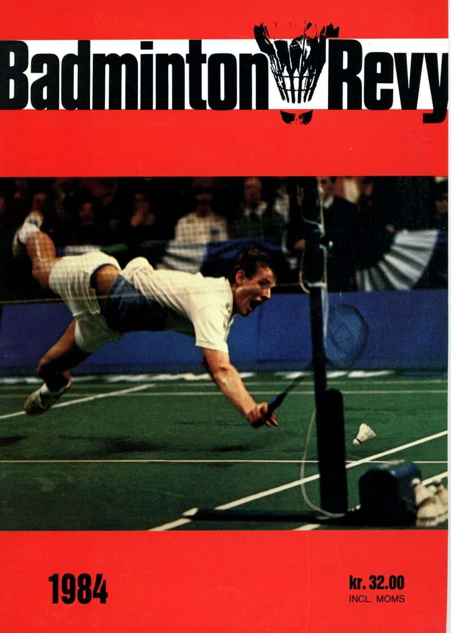 Forside Badminton Revy 1984