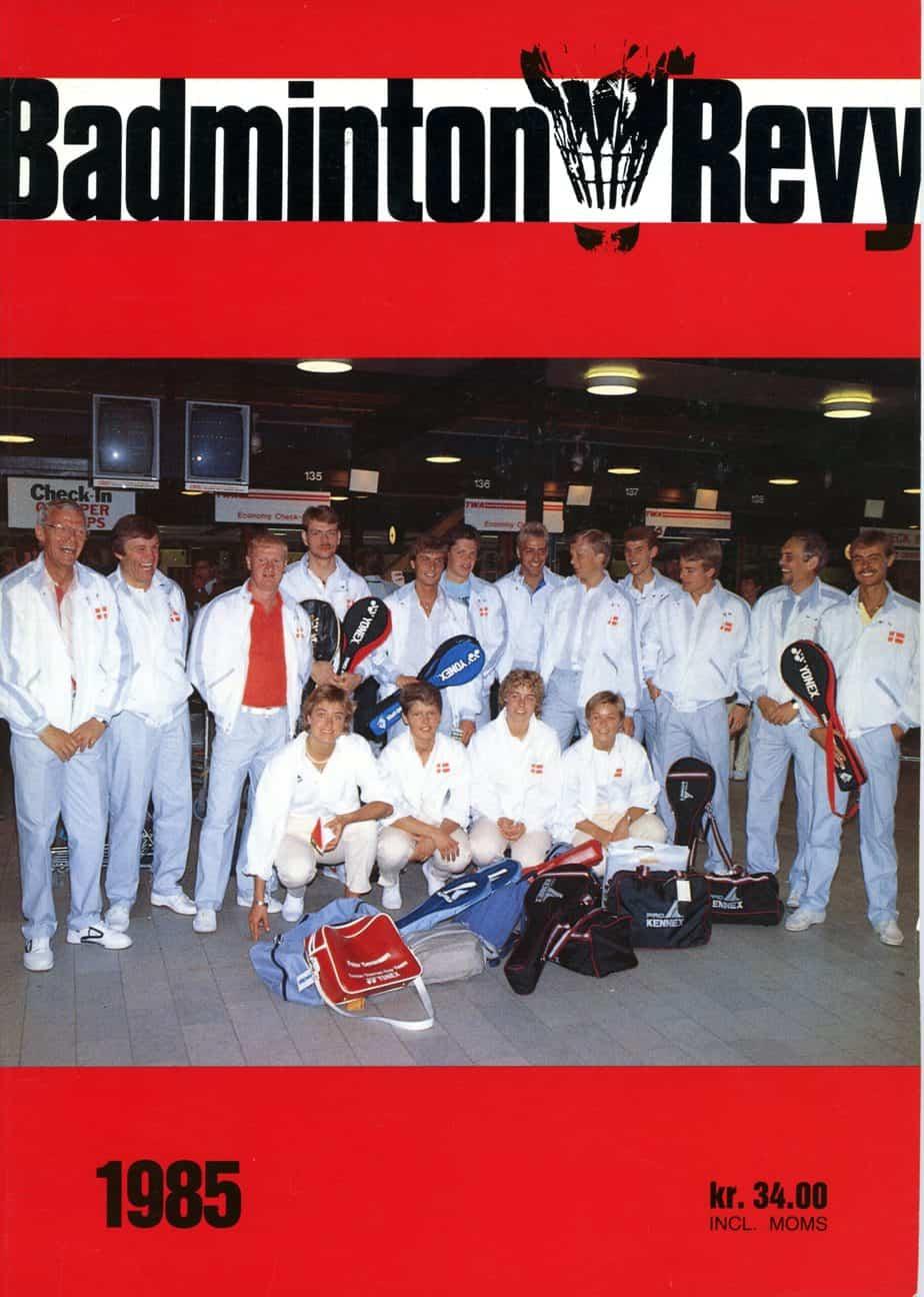 Forside Badminton Revy 1985
