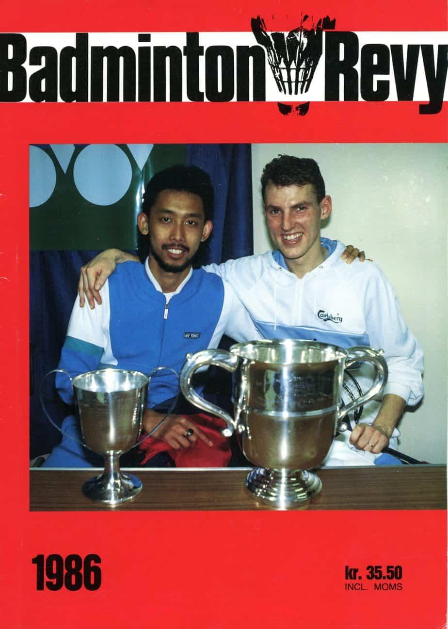 Forside Badminton Revy 1986