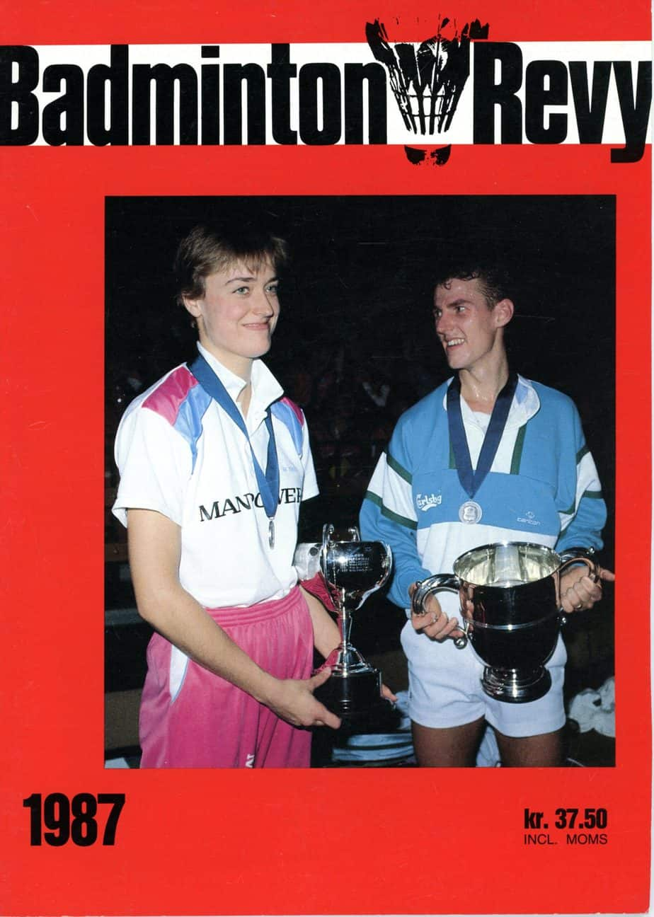 Forside Badminton Revy 1987