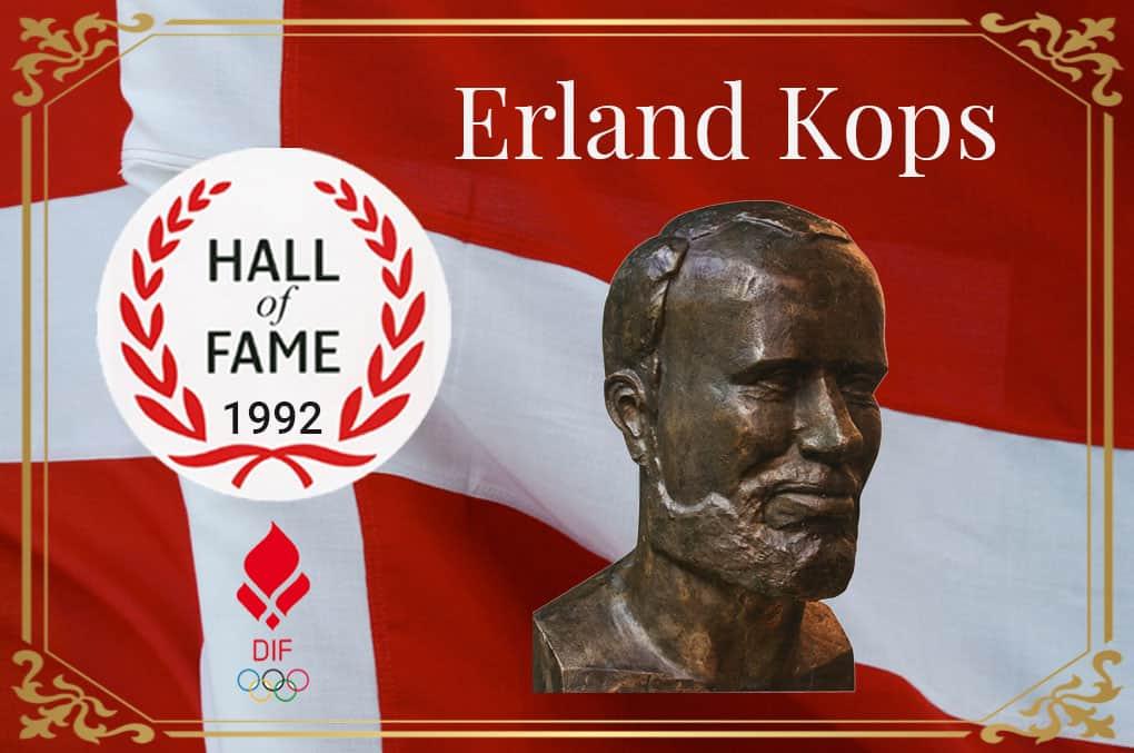 Erland Kops HALL Of FAME