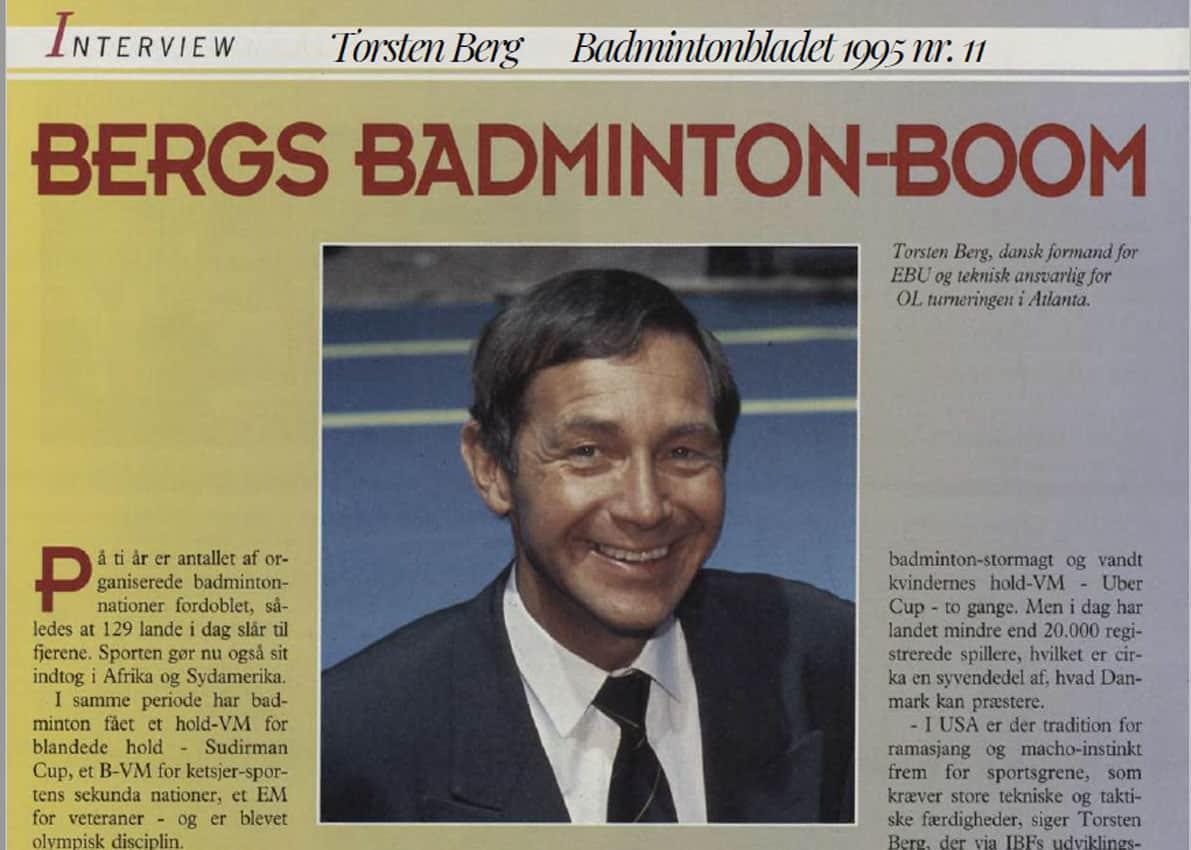 Torsten Berg Interview 1995
